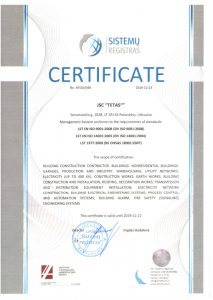 ISO_9001_2008 - ISO_14001_2005 Construction certificate